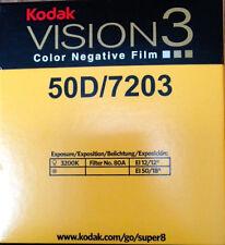 Kodak V3 Super película negativa de color 8mm 50D 7203 Distribuidor Oficial