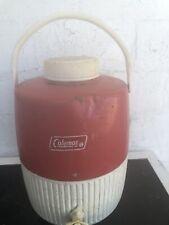 vintage coleman cooler jug