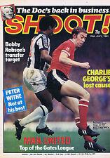SOUTHAMPTON / WBA / MAN UTD / PAUL STURROCK DUNDEE UTDShoot25July1981