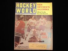 October 1971 Hockey World Magazine - 1971 NHL Preview
