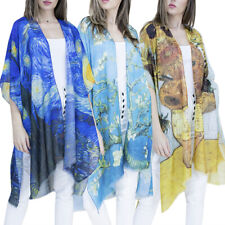 Women's Kimono Bathing Suit Beach Cover Up Summer Swimsuit Wrap Shawl Cardigan