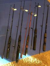 5 Vintage Two-Piece Spinning Rods- 3 Daiwa Ul, Pro Rod & Shakespeare Ul