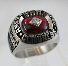 ABC American Bowling Congress 300 Game Award Ring Size 10