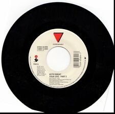 KEITH SWEAT YOUR LOVE PART 2/TELL ME IT'S WHAT YOU WANT 45RPM VINYL