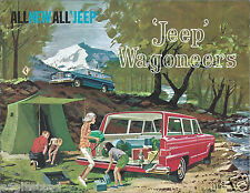 Truck Brochure - Kaiser - Jeep - Wagoneer - c1962 (T1142)