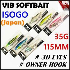 6x Japan 115mm 35g Soft Plastic Fishing Lure Vibe Vibes Jew King Barra Flathead