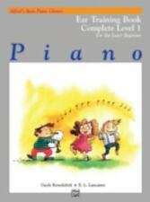 Alfred's Basic Piano Library Ear Training Complete, Bk 1: For the Later Beginner