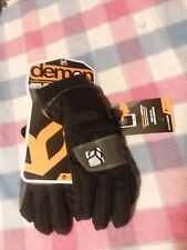 Demon Electronic Touch Snow Gloves NEW