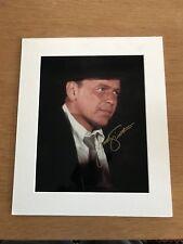 "Frank Sinatra Autograph Photo 12"" X 10"" Mounted Signed Image"