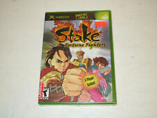 Stake Fortune Fighters   for Original Xbox Brand New Factory Sealed