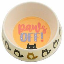 Bambou écologique bio dégradable pattes Feline fine chat Pet Food Bowl