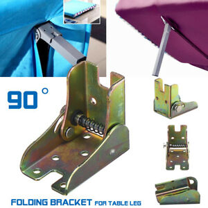 Folding Table Leg Brackets Fitting Self Lock Foldable Feet Hinges D