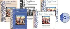 Memoria Press - 1st to 4th Form Latin SET Books and Pronunciation Cd's and DVD's