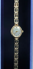 Ladies Accurist 9ct Gold Bracelet Watch, 6""