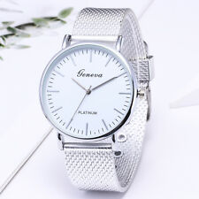 Fashion Men's Women Classic Mesh Strap Quartz Watch Bracelet Watches Wrist Watch
