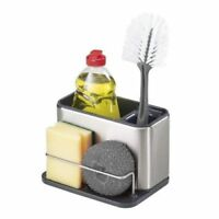 JOSEPH JOSEPH Surface Cutlery Drainer Stainless Steel Caddy Sink Area Organiser