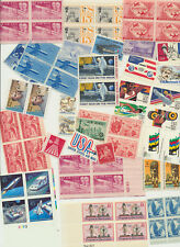 AIRMAIL USA Stamp Collection Mixture as shown Mint NH Collection Over $10 Face