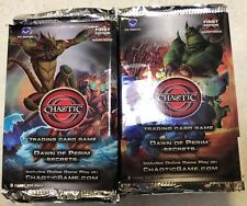 Chaotic Dawn Of Perim Secrets Booster Box LOT Of 24 Packs For Card Game TCG CCG