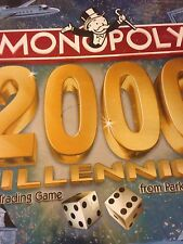 Monopoly 2000 Millennium Edition Board Game Parker Bros