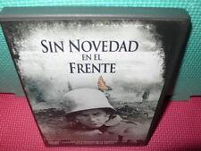 SIN NOVEDAD EN EL FRENTE - 2 OSCARS - dvd