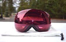 2014 DRAGON APXs SNOWBOARD GOGGLES $270 one black burgundy lens anti-fog USED
