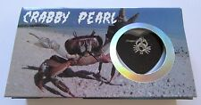 Crabby Pearl- Crab Necklace & Pendant- genuine pearl in oyster- pretty box