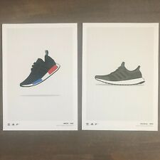 Adidas Collect Kickposters Poster Card Print OG NMD & Ultra Boost