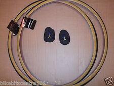1 PAIR Road Bike Tyre tyres 700c x 25 700 x 25 + 60MM Inner Tubes Raleigh