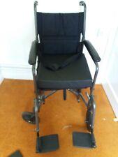 19 inch Lightweight Folding Wheelchair
