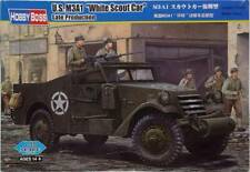 U.S. M3A1 White Scout Car Late Production model kit Hobby Boss 82452