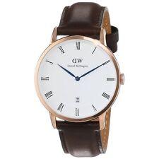 Daniel Wellington Classic Bristol 1103DW Brown Leather Rose Gold Men's Watch
