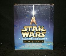 Topps Star Wars Attack of the Clones Movie Trading Cards SEALED BOX 36 Packs
