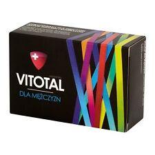 VITOTAL witaminy minerały dla mężczyzn vitamins for men energia witalność 30 tab