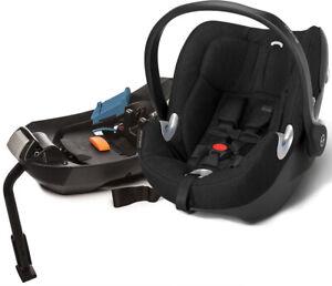 Cybex Aton Q Plus Infant Car Seat - Black Beauty