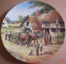Royal Doulton Limited Edition Collectors Plate The Harvesters Arms