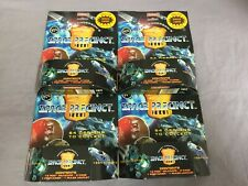 4x Gerry Anderson's Space Precinct 2040 POG Booster-Packung OVP -u.a. je 15 Caps