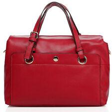 "Thompson Luxury Bags ""Sofia"" City-Bag echt Leder rot Tasche Handtasche -UVP 249€"