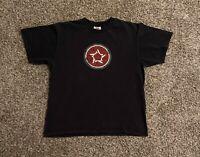 VTG Nike Athletic Republic Mens T-Shirt Large Double Sided Graphic Swoosh Logo