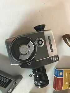 Vintage Yashica 8-E 8mm Reflex Zoom Movie Camera with 12.5-37.5mm Lens
