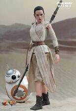"Hot Toys STAR WARS REY & BB-8 SET 1/6 12"" Force Awakens Mint SEALED USA"