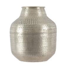 Gefäß Aluminium Used-Look 38,5 cm / Dekoration, Dekoobjekt, Krug, Vase