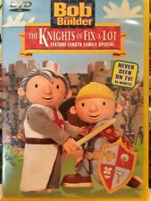 DVD BOB THE BUILDER THE KNIGHTS OF FIX A LOT NEVER SEEN ON TV NEW