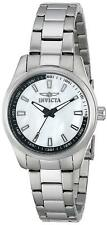 Invicta 12830 Specialty Women's 33mm Stainless Steel White Dial Watch
