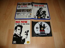 MAX PAYNE 2 THE FALL OF MAX PAYNE DE REMEDY PARA LA SONY PS2 USADO COMPLETO