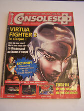 MAGAZINE JEUX VIDEO , CONSOLES + N° 84 . SEGA , PLAYSTATION , NINTENDO .