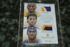 2012-13 PANINI IMMACULATE COLLECTION KOBE BRYANT 3 COLOR PATCH #5/10!!!