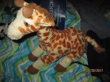 Giraffe Mom & Baby Necklace & Plush