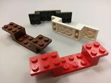 Bulk Lot Lego Part No.4732: Bracket 8 x 2 x 1 1/3, Assorted Colours, Qty x 4