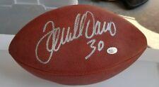Terrell Davis autographed football