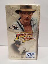INDIANA JONES Movie Trilogy VHS BONUS YOUNG INDIANA JONES NEW IN PLASTIC!
